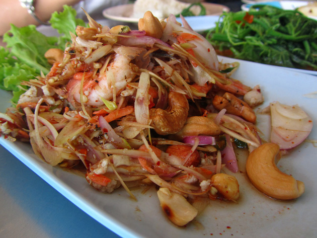 Riverside Thai Food at Lan Loong Lui Restaurant ร้านลุงหลุยส์ (ท่าพระจันทร์)