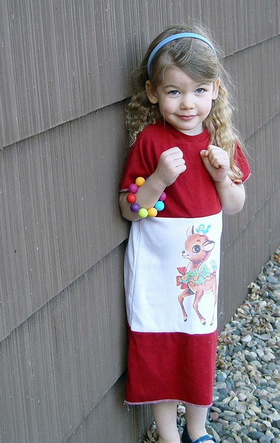 Reindeer dress