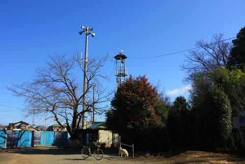 地頭方の火の見櫓(上尾市)