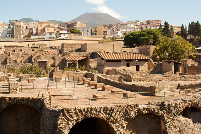 Ercolano Italy  city photos gallery : Ercolano herculaneum Italy with Vesuvius | Flickr Photo Sharing!