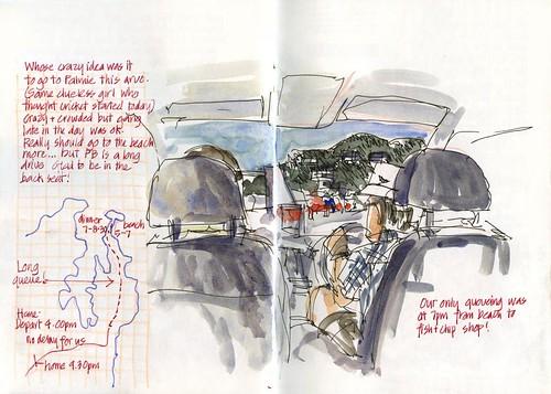 Summer! J02MO_06 Holiday traffic