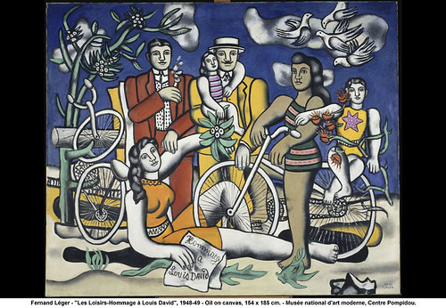 "Fernand Léger - ""Les Loisirs-Hommage à Louis David"", 1948-49 by artimageslibrary"