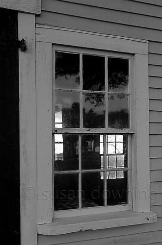 Windows Thru a Window BW