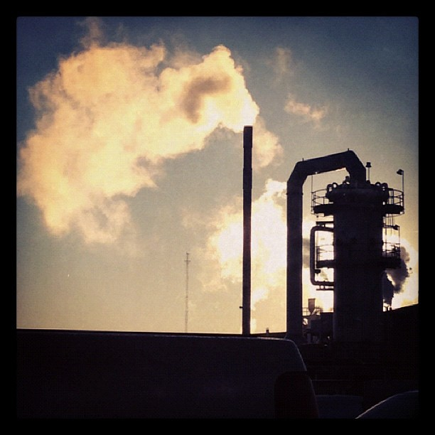 3/365+1 - A Cold Morning at Work #industrial #steam #p365+1