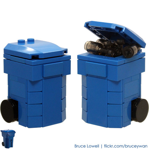 LEGO Recycling Bin