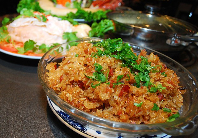 Landmark HotPot House - Stir Fried Glutinous Rice