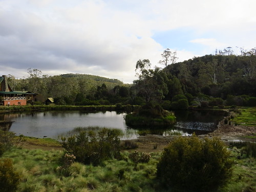 Cradle Mountain Lodge & pond