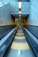 subway, transport, escalator,