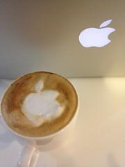 Today's latte, Apple.
