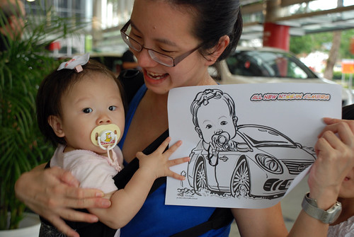 Caricature live sketching for Tan Chong Nissan Almera Soft Launch - Day 1 - 32