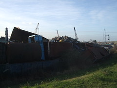 Scrapyard in Erith.