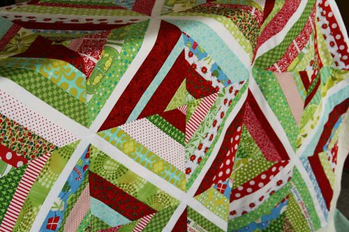 christmas quilt sml