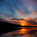 Shawnee Mission Lake Sunset by Graham J Green