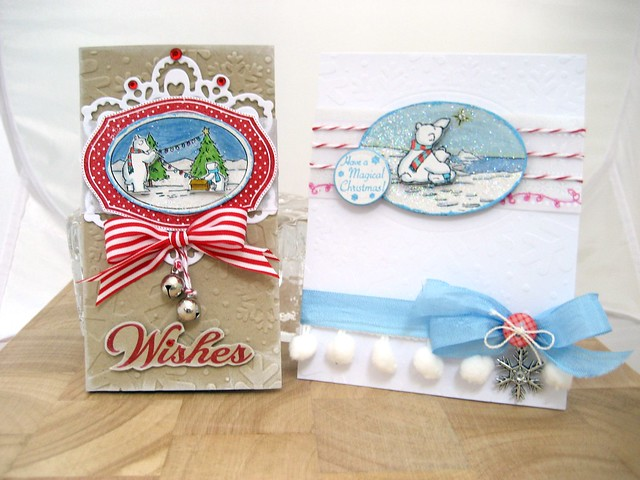 Winter Wishes Notebook and Card