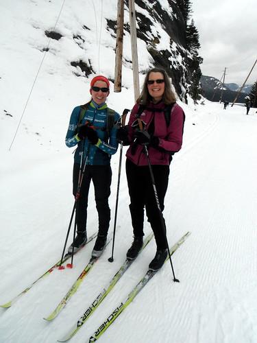 Katie & Ellen Ski