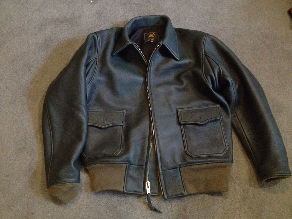 Lost worlds leather jacket