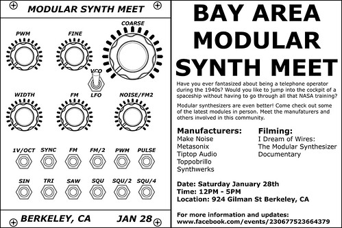Bay Area Modular Meet - 924 Gilman St - 01/28/12