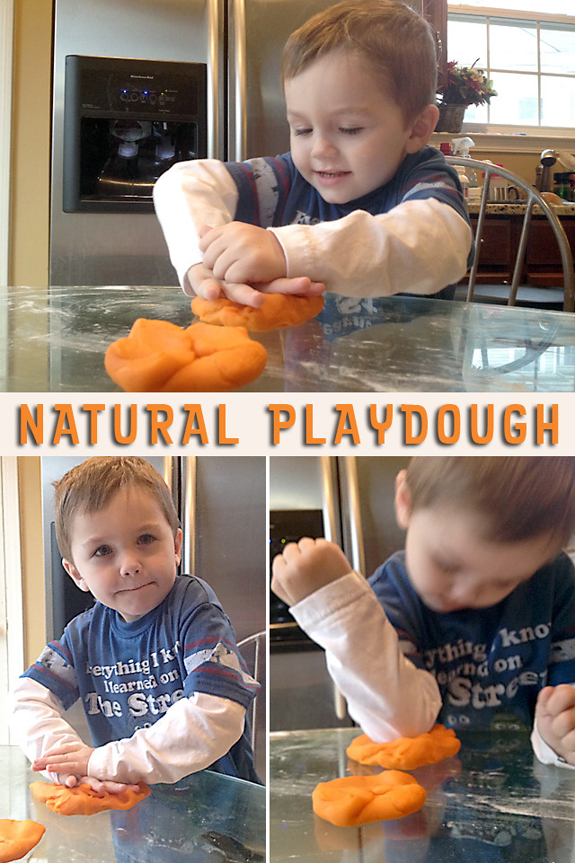 Natural Playdough - 02