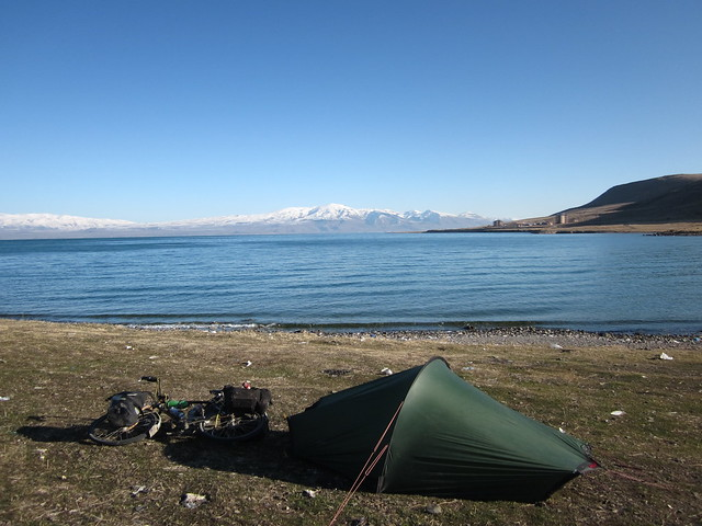camping by Lake Van