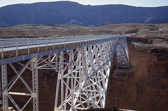 Navajo Bridge - Marble Canyon Arizona - August 1948