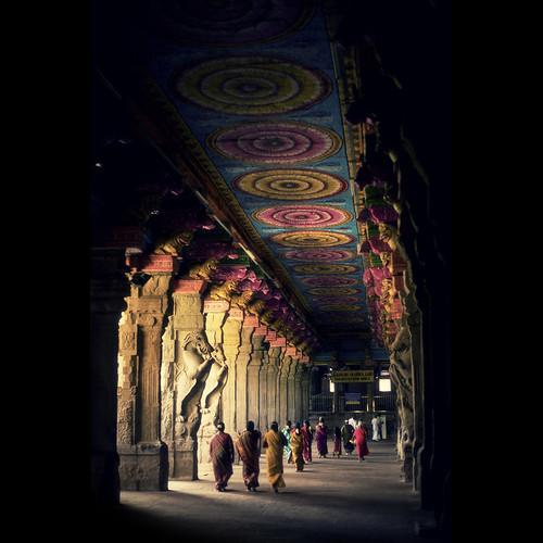 [フリー画像素材] 建築物・町並み, 宗教施設, 寺院・お寺, 風景 - インド ID:201201161200