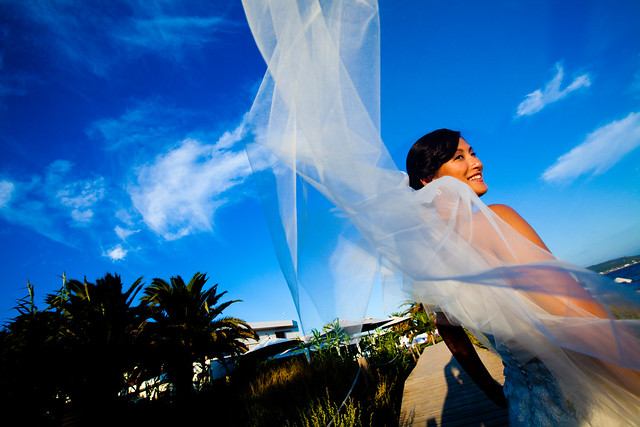 Fusion photography, wedding in Formentera
