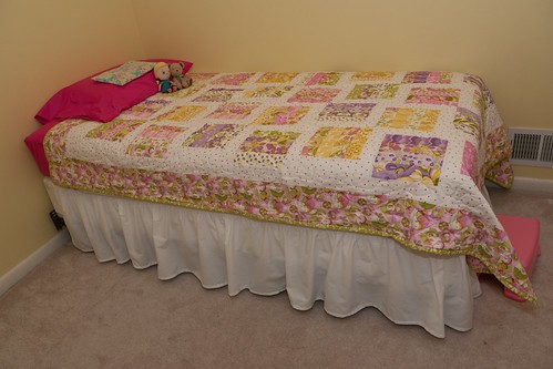 Leah's new quilt