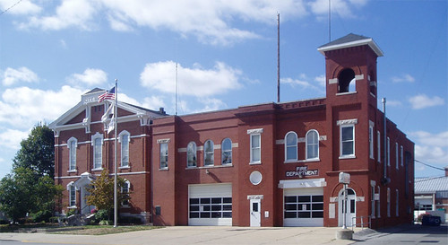 Collinsville Fire Station Exterior