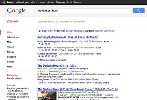 Google.nl bioscoop