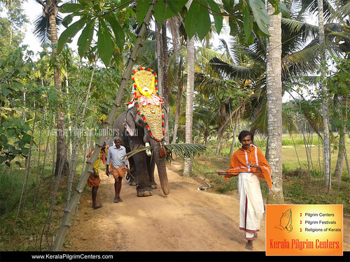 Vettiyara Madanthampuran Temple Ulsava Ghoshayatra 2012