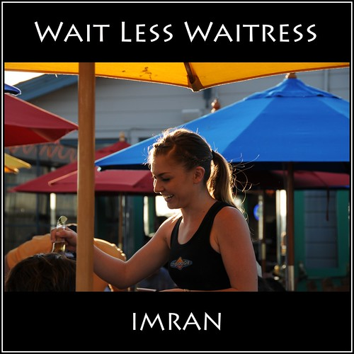 Less Weight More Smile Wait Less Waitress California - IMRAN™ by ImranAnwar