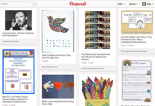 Pinterest - Kids' Martin Luther King Day Activities