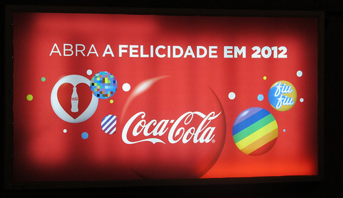 2012 Coca-Cola Open Happiness Rio de Janeiro Newstand Backlit by roitberg