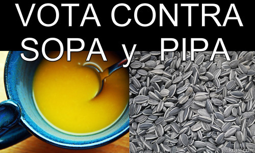 Vota contra SOPA y PIPA