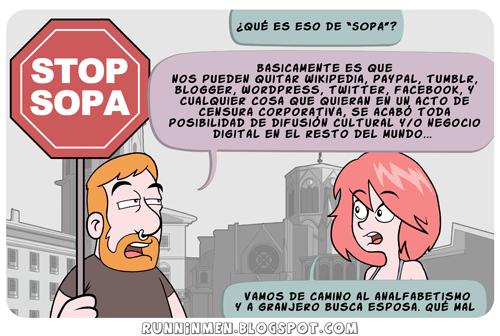 la única SOPA buena es la de mamá