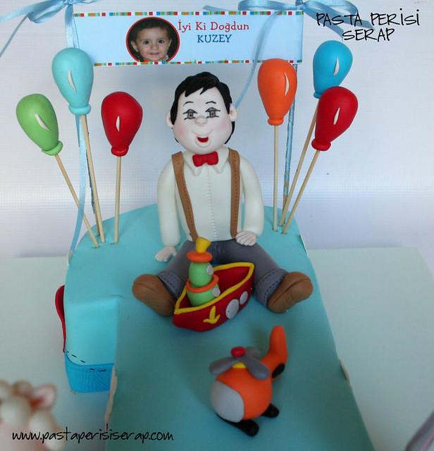1 yaş pastası -Kuzey