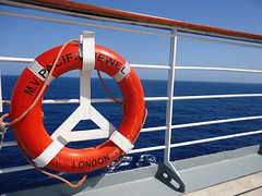 vehicle, lifebuoy, watercraft, inflatable, blue, boat,