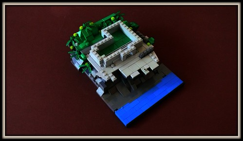 LEGO Oceanside Castle Micro-scale (3)