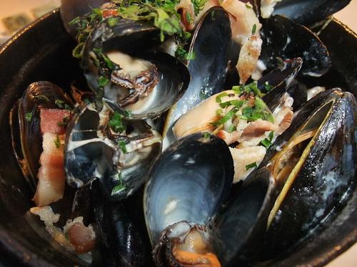 Prince Edward Island Mussels @ Spagio