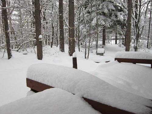 ベランダの雪 2012年1月20日14:52 by Poran111