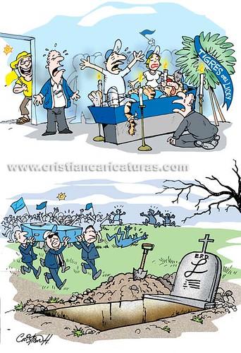 Velorio y entierro