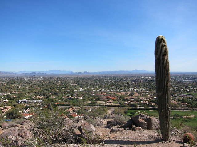 Camelback hike biking Scottsdale Jan 2012 003