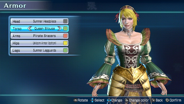 Dynasty Warriors Next Character Customization (5)