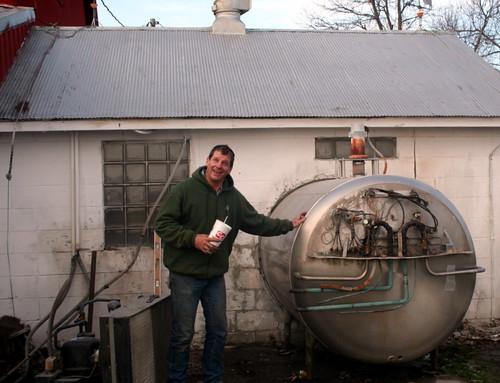 Old Milk Tank