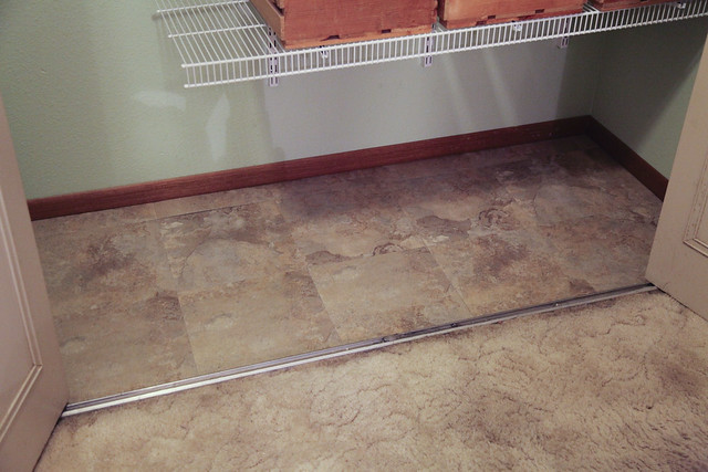 Pantry Redo - New Flooring