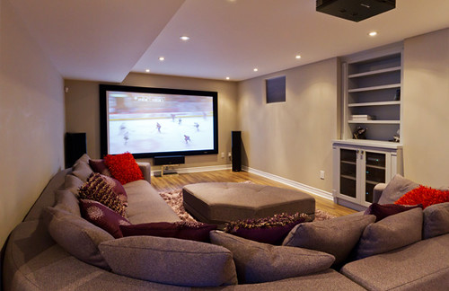 Home Theatre Finished Basement