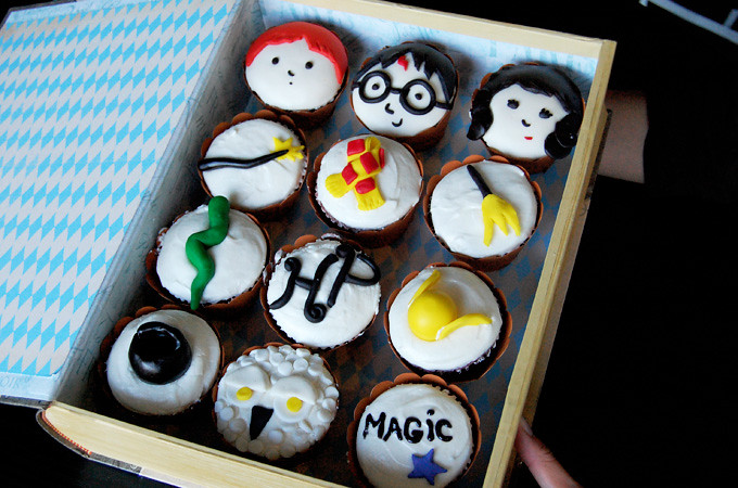 Harry Potter Cupcake