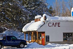 Station Cafe in Trout Lake, WA
