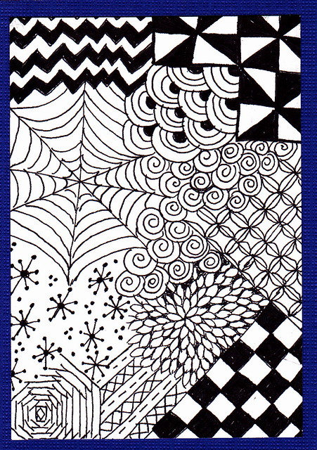 Zentangle for Beginners #2 - craftycrocheter