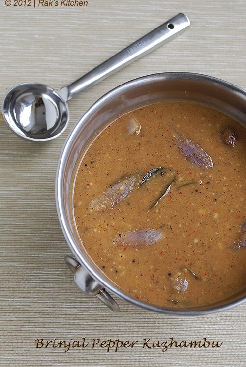 Brinjal-pepper-kuzhambu